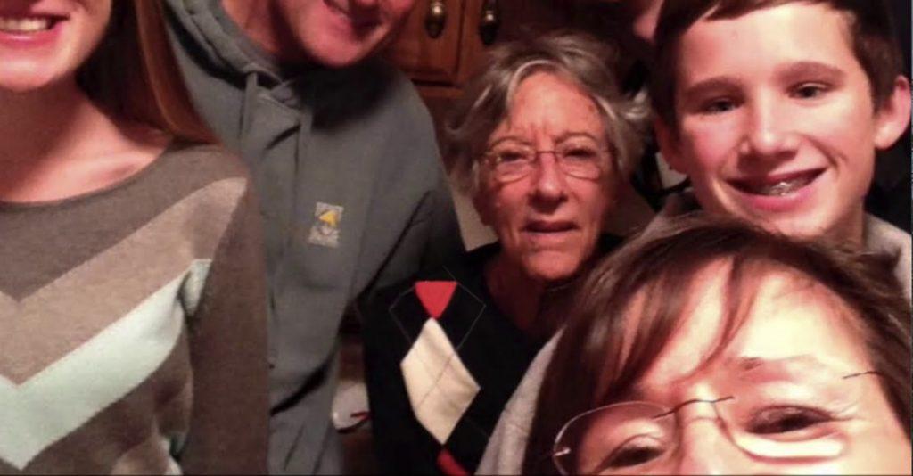Charter Senior Living of Edgewood Video Thumbnail Family Group Surrounded by senior living resident